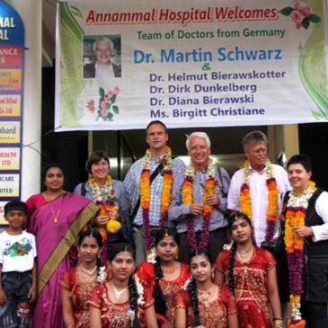 Südindien, zweiter Einsatz in Kanyakumari (Indien), 25.9.-9.10.2010