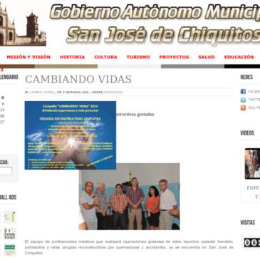 San Jose de Chiquitos, 5.4. bis 19.4.2014